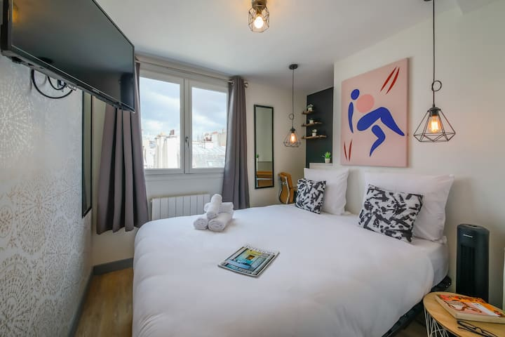 Lafayette - Saint-Lazare 65 : cosy apartment for 2