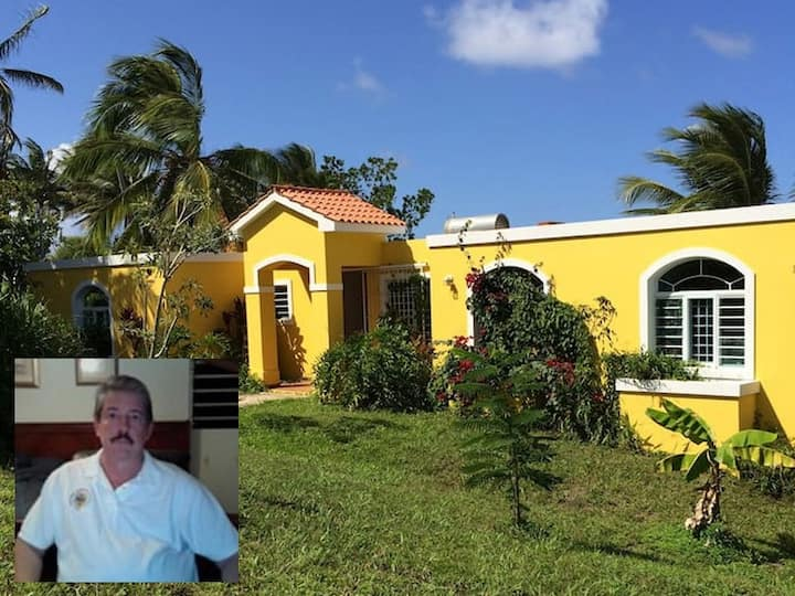 The Yellow House in Manati