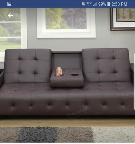Your couch in living room