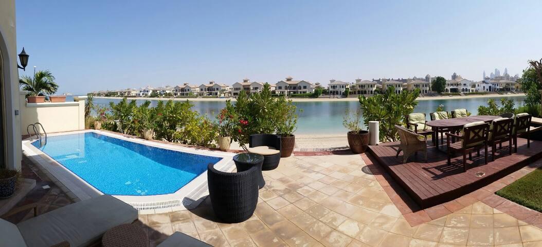 The Palm Jumeira Garden Home Villa - Dubai - House