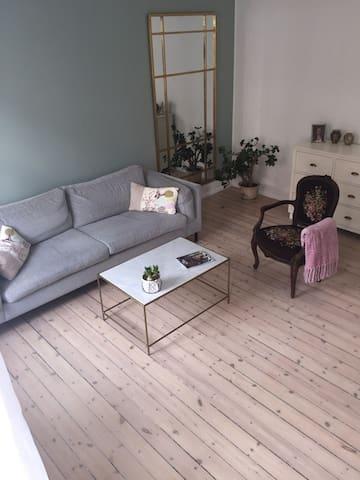 Hyggelig 3 værelses københavner lejlighed.