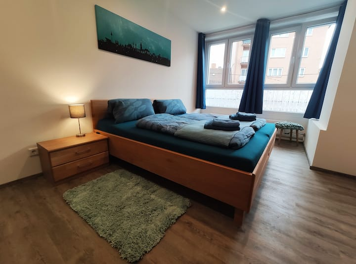 GoSt - 2 - Spacious, central Double Room