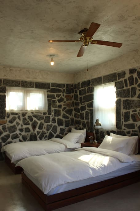 Inside view of standard(twin bed) room