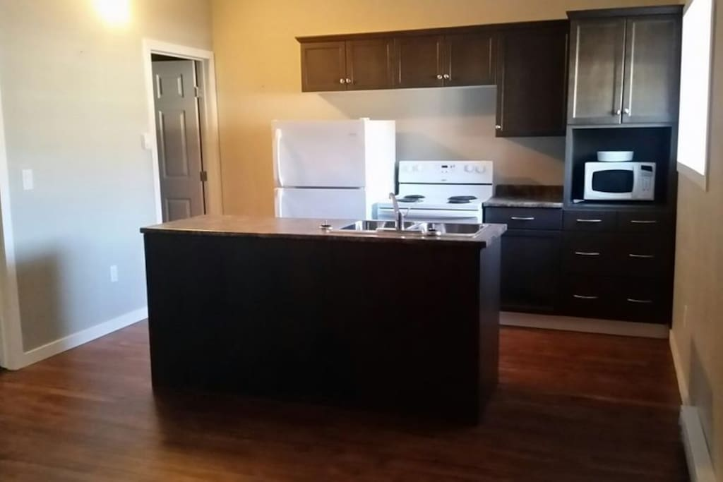 Kitchen with Island and all appliances