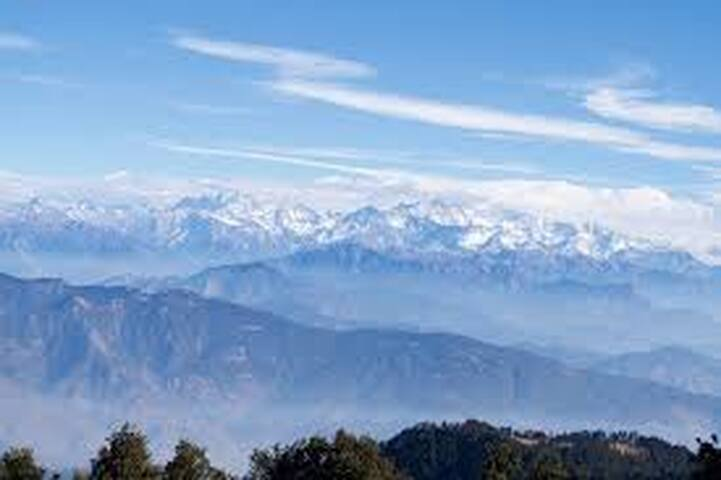 The View:-Sunnyhill Chalet Kasar valley .