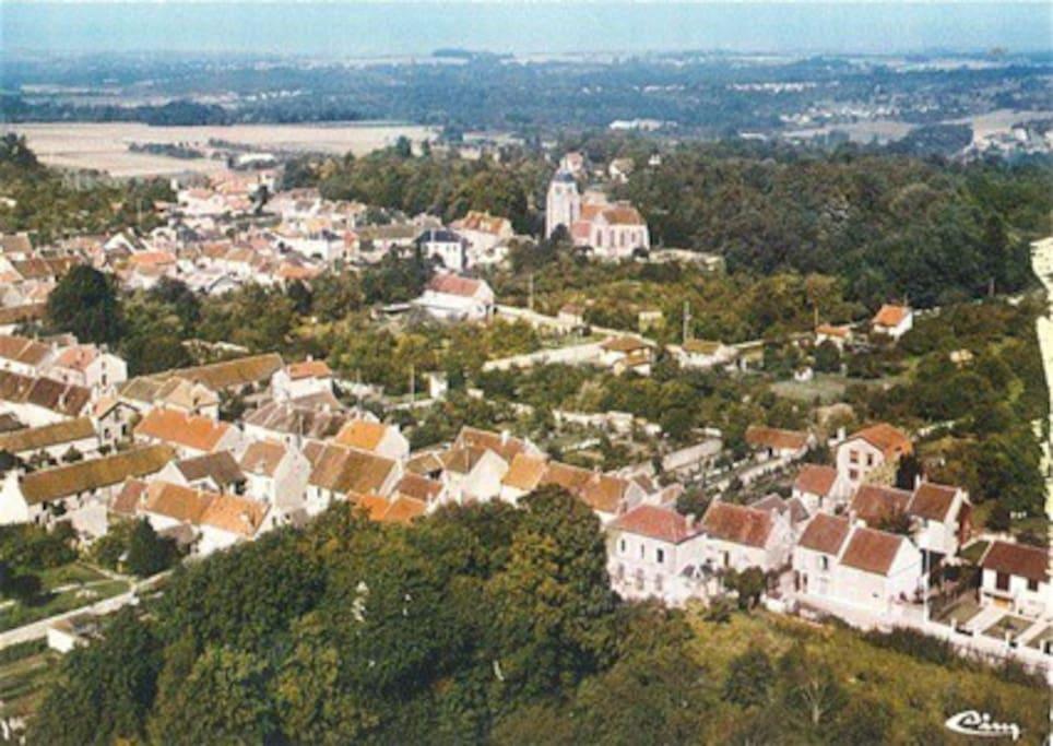 notre village proche de Disney, Paris, Meaux,