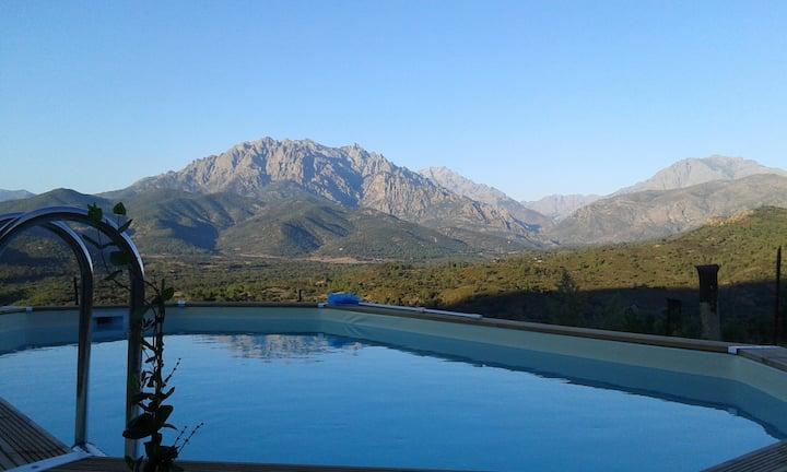 Villa 3ch 100m2 6P,  Piscine privative Climatisée