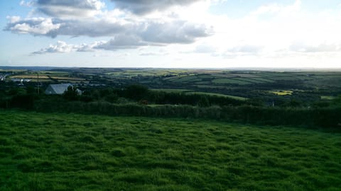 The little gem - stunning view of rural Cornwall