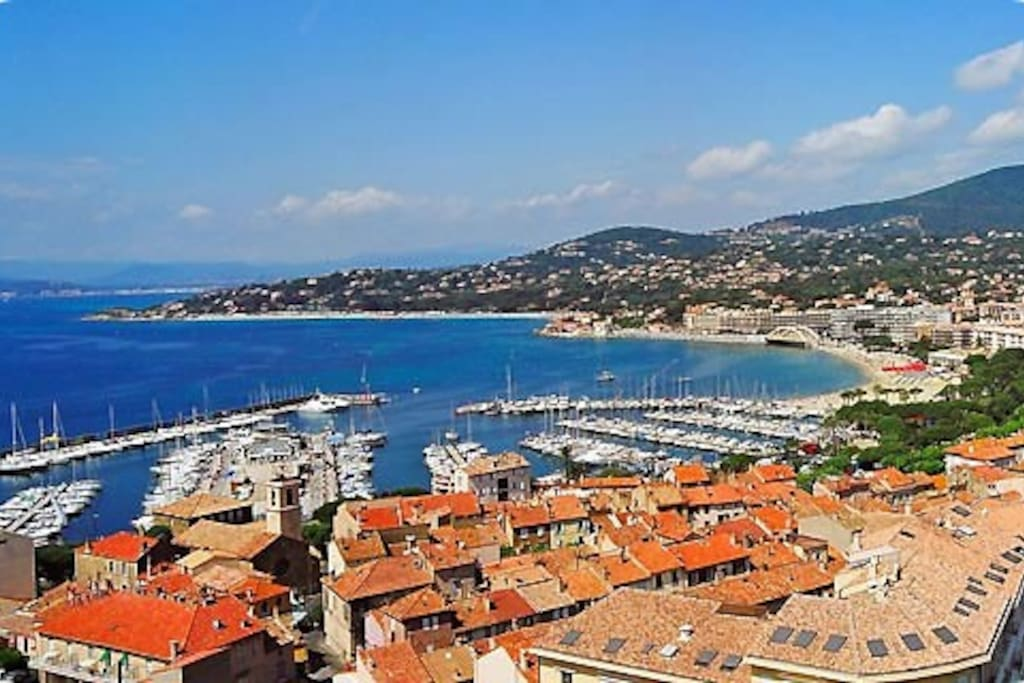Sainte-Maxime, port