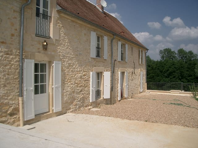 Belle demeure bourguignonne - Merry-sur-Yonne - Huis