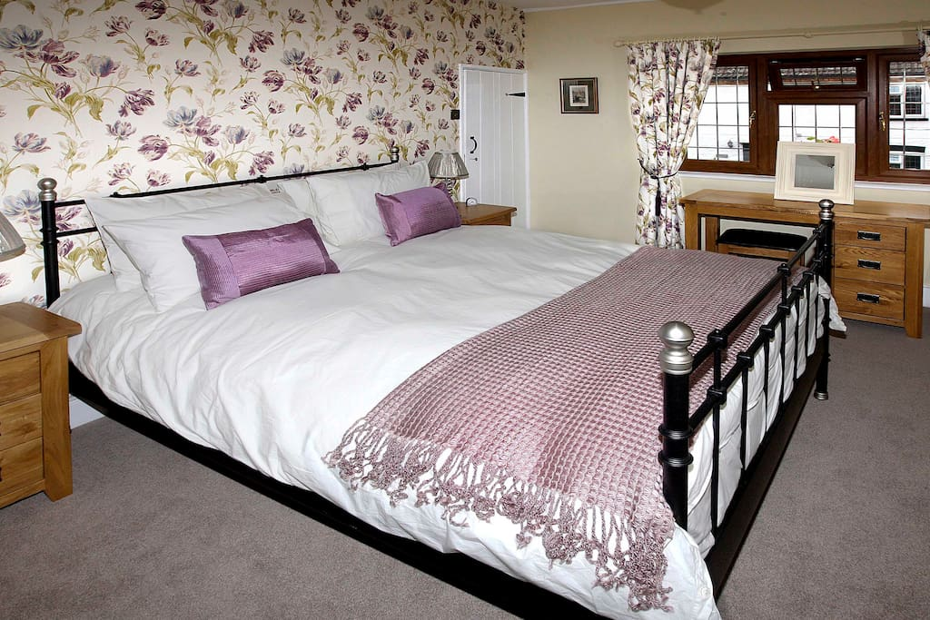 This is The Peony Room with King size bed and has an en-suite