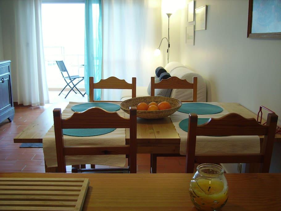 sala - mesa de refeições