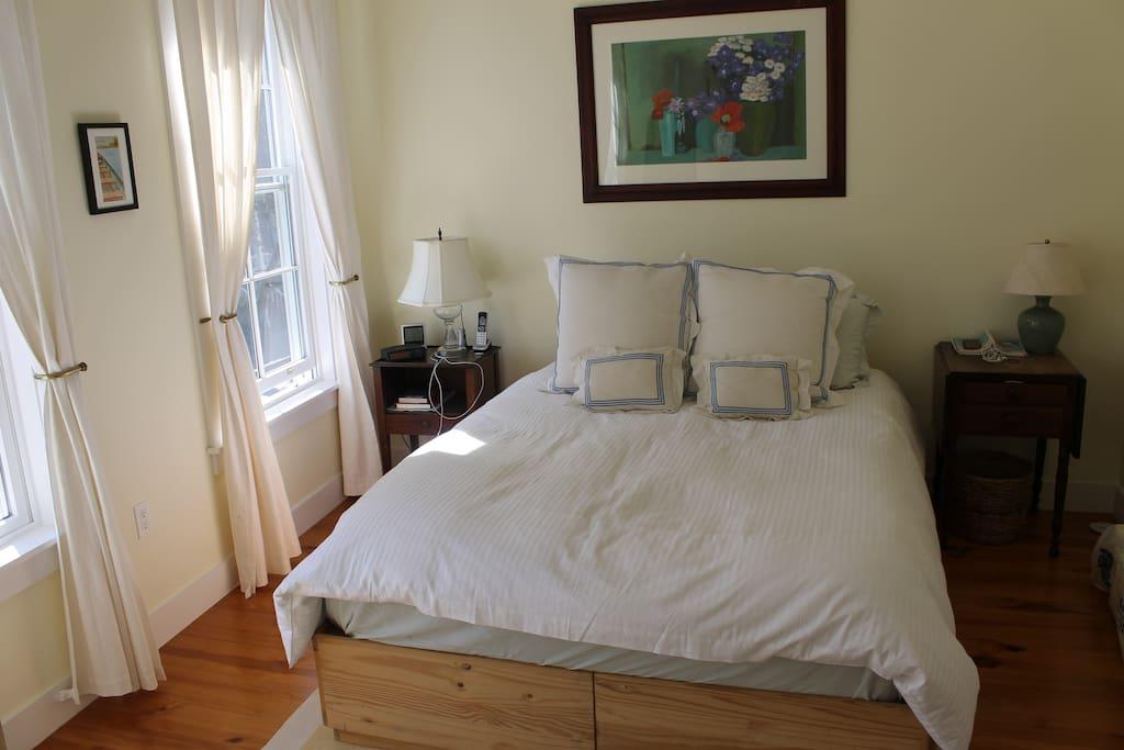 Bright master bed room