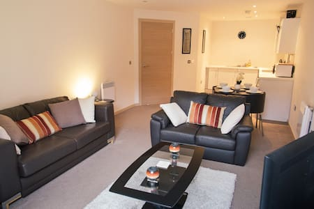 Luxury Apartment, St Pauls Sq, Bham - Birmingham - Wohnung