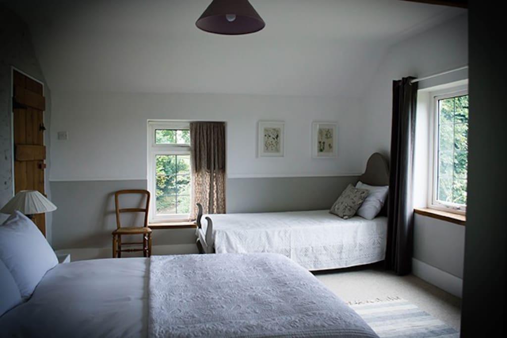 Clywedog double/twin room