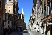 Via del Babuino - after the 2014 beautiful restyling