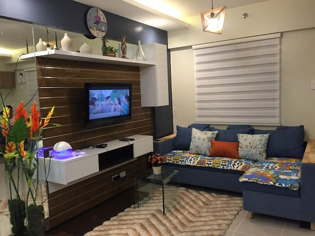 INTERIOR DESIGNED 2BR CONDO @ ASTERIA NEAR NAIA