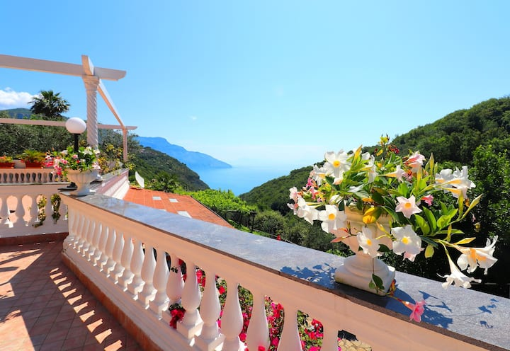B&B VILLA COSTANZA AMAZING VIEWS (Positano room)