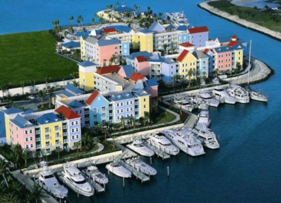 Marina at Harborside at Atlantis