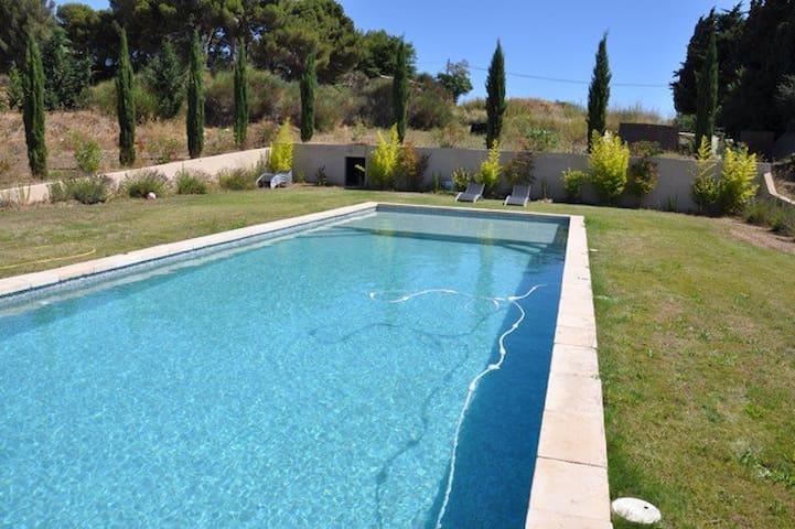 Appartement 2 chambres dans une ferme et piscine - Aix-en-Provence - Apartment