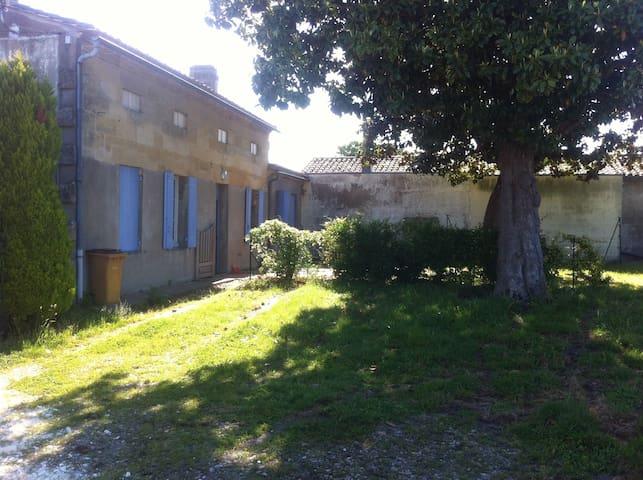 Chambre d'amis pour 1 ou 2 personnes - Libourne