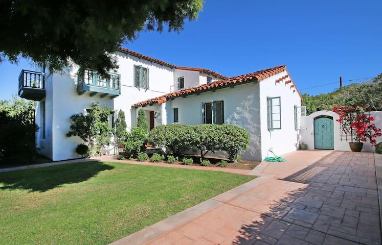 Elegant 1920s Spanish Home