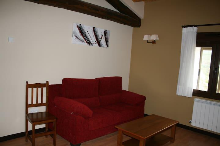 Hotel San Millán Habitación Doble 2 - Oncala - Slaapzaal