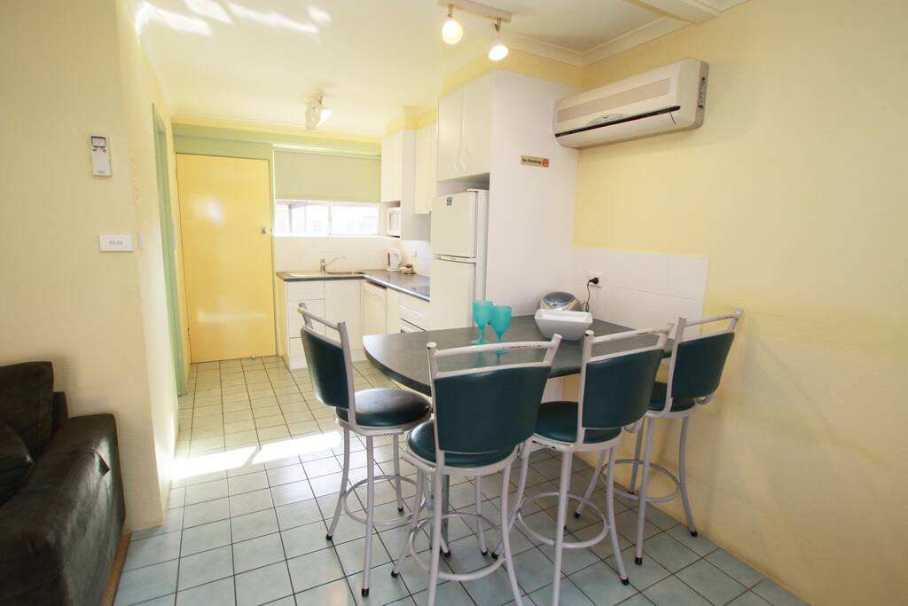 Meals bar and fully self contained kitchen