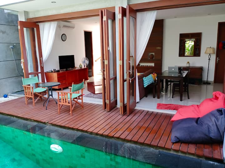 2 bedroom villa with pool in Sanur