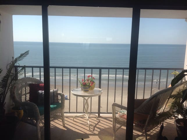 Amazing 9th floor Ocean View - Galveston - 아파트