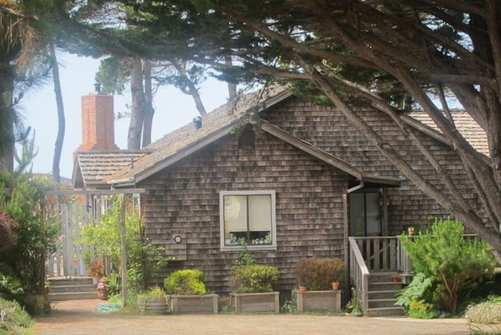 COZY CASPAR COTTAGE WITH OCEAN VIEW - Mendocino
