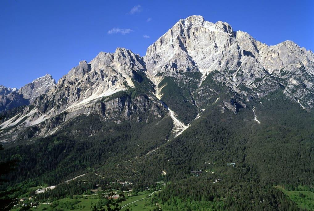 Uno dei luoghi più belli al mondo: le Dolomiti del Veneto