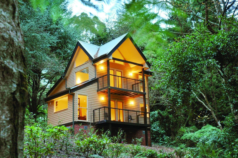 Treetops Tri-Level Cottage.