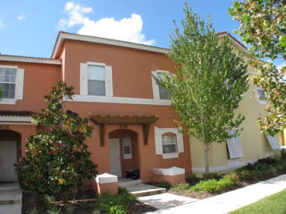Luxury 3br Villa Near Disney Private Spa Freewifi Villas For Rent In Kissimmee Florida