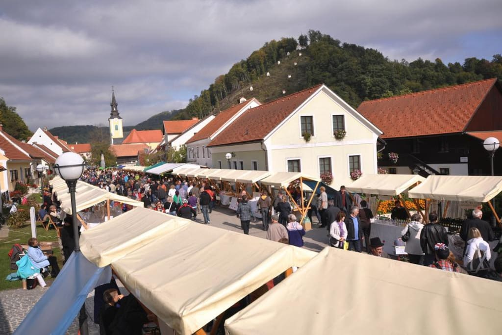 The town market