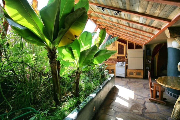 Earthship:  Sweet Cinnamon Suite