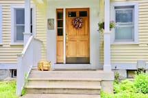 Entrance to Morgan Cottage