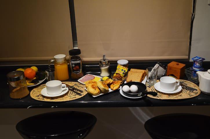 Nothing like a good breakfast