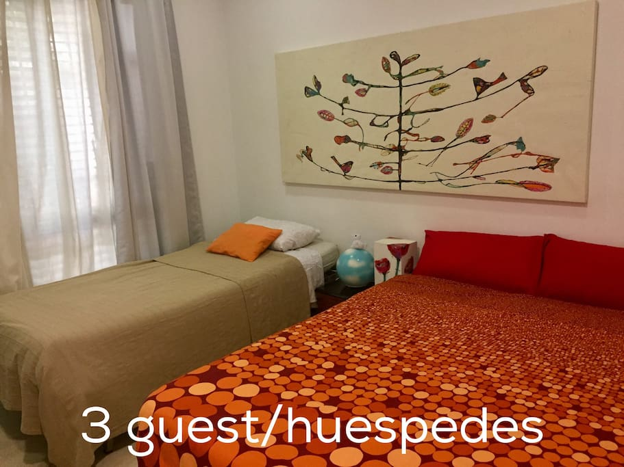 2 or 3 guests Room