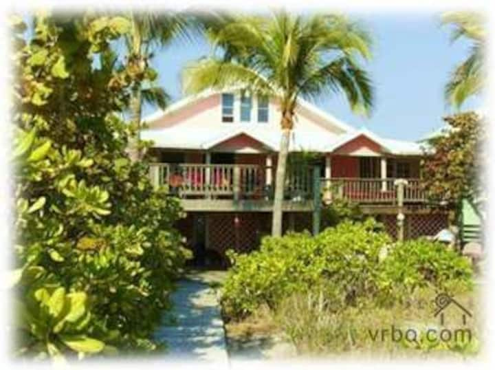 Pink House Beach Front Rental
