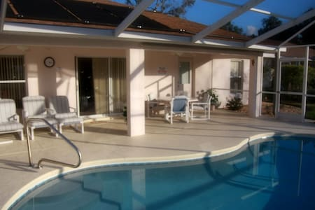 4-bedroom villa with private pool - Inverness