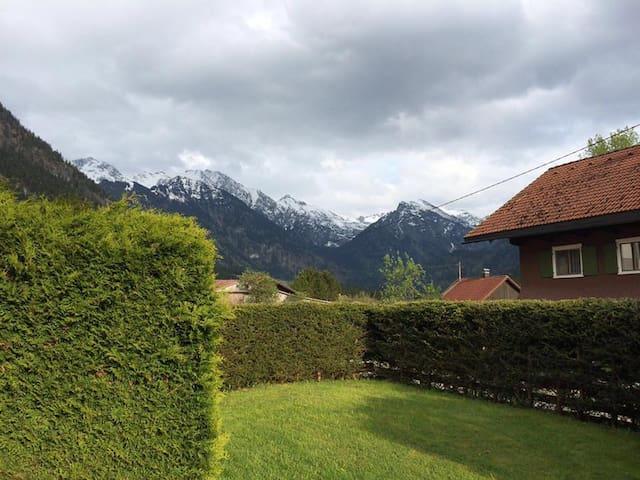 Wohnung im Bergdorf Hinterstein - Bad Hindelang - Leilighet