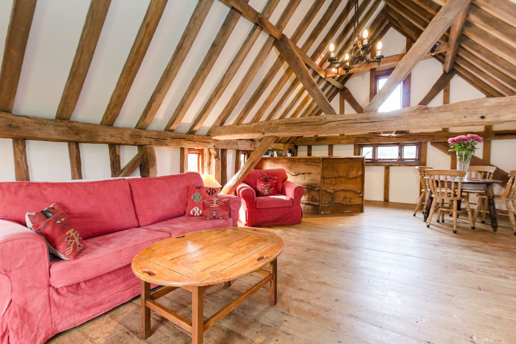 Rose Cottage has real charm, with exposed beams and a real oldy-worldy feel. Ronan McKenna September 2015