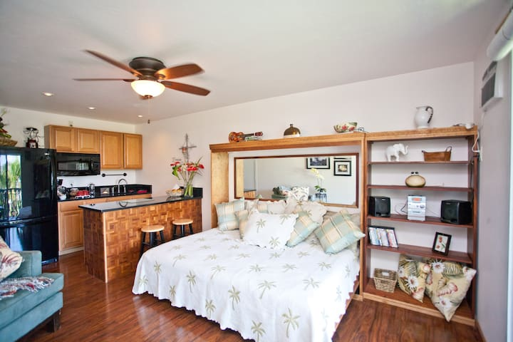 Cozy, Elegance in Heart of Kona!! - Kailua-Kona - Flat