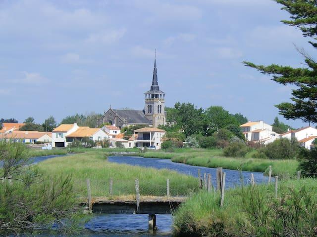 Eglantine et Chèvrefeuille - L'Île-d'Olonne - Guesthouse