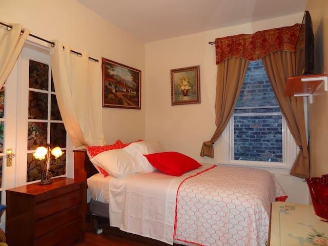 BIG NEW ROOM