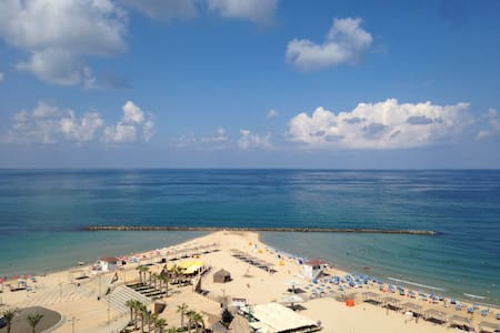 Grand apartement Vue imprenable mer - Netanya