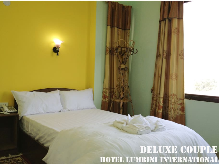 Deluxe Couple bedroom with Private Balcony &  private bathroom