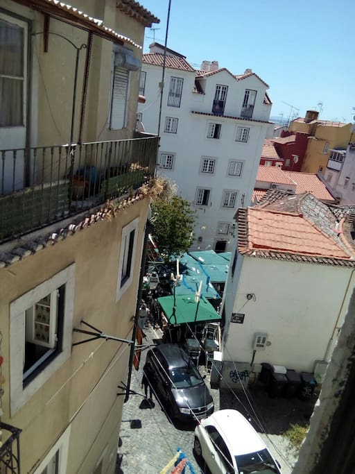 alfama, view from the window