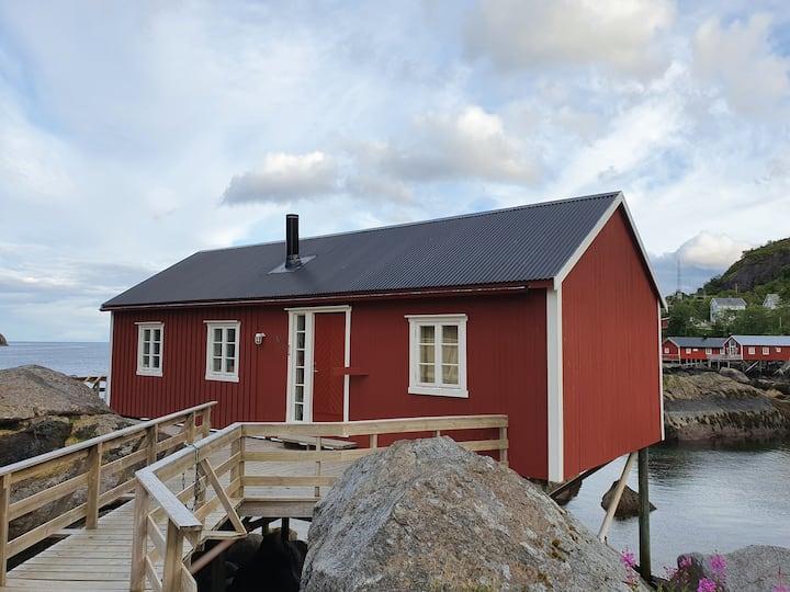 Rorbu in Nusfjord, Lofoten